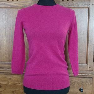 Talbots cashmere sweater, xs